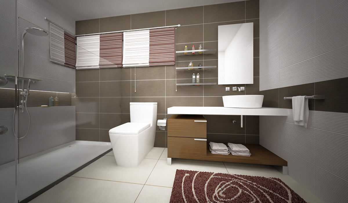 Luxurious Bathroom Toilet is good, but take care with the direction for Health and Finances