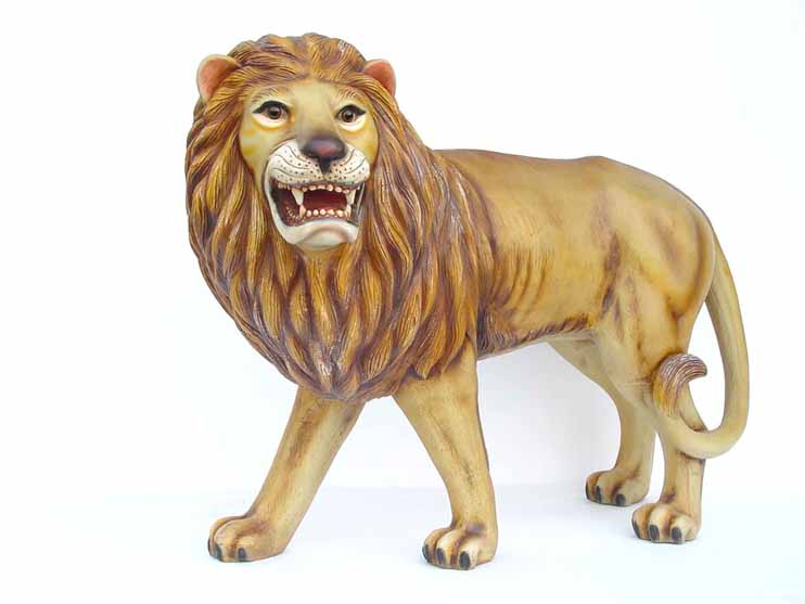 Lion for confidence in North North East Vastu Zone